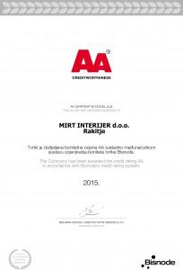MIRT INTERIJER d.o.o. 2A